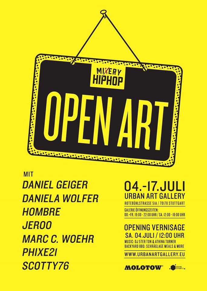 Werbung open art